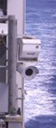 Pan, Tilt, Zoom cameras and video systems for ships, ports, harbours and offshore platforms.