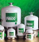 MANN Centrifugal Oil Cleaners FM600 FM200 These centrifugal oil cleaners are used as by-pass filters in combination with full flow filters. Thus, a very effective filtration is achieved. Micron particles that have passed the full flow filter are removed by the by-pass filter. The by-pass filter offers a very intense purification with a high degree of separation. As a off line filter, the centrifuge is used in commercial marine, truck, bus, mining, power generation and building machinery. Due to the centrifugal forces emerging during rotation, the dirt particles in the oil are thrown towards the inside wall of the rotor, where they remain stuck until the centrifuge is cleaned.