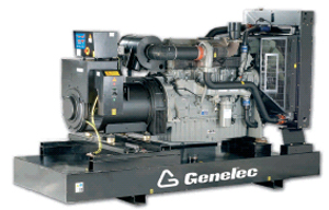 This Perkins engine genset is deal for standby and prime power applications, diesel generator sets from GENELEC are compliant with current EC safety and environmental regulations. Perkins industrial grade diesel engines are designed for long life in the toughest application.