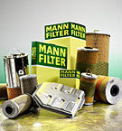 MANN OIL AIR FUEL FILTER