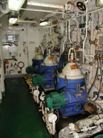 Ship Service Engine Room Overhauling